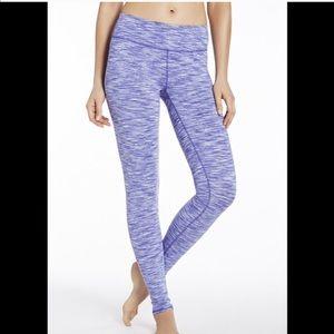Fabletics Lavandar Purple Space Dye Salar Leggings